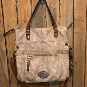 Fossil Large Satchel